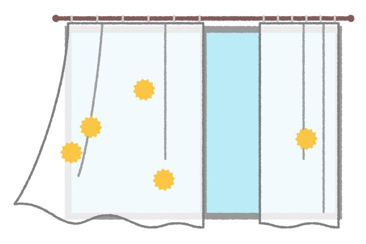 花粉症対策での窓の換気
